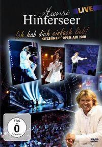Cover Hansi Hinterseer - Ich hab dich einfach lieb! Kitzbühel Open Air 2010 [DVD]